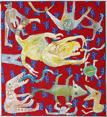 Künstlerin Christiane Latendorf verwendet oft eine Scherenschnitt-Technik.