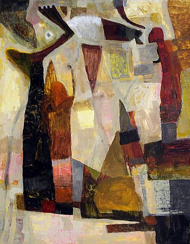 Ölgemälde des Malers Roland Staab
