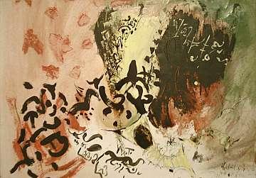 Der Maler Wieland Richter ist sozusagen bereits ein Stamm-Künstler der Galerie Mitte in Dresden.