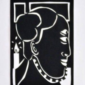 Papierschnitt der Künstlerin Christian Latendorf