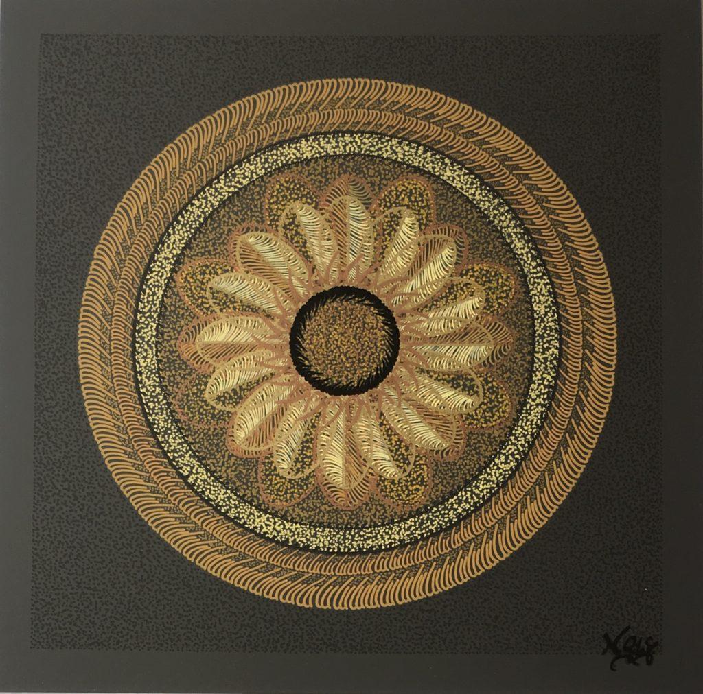 Werk der Künstlerin Gila Abutalebi - K-Visual No.85