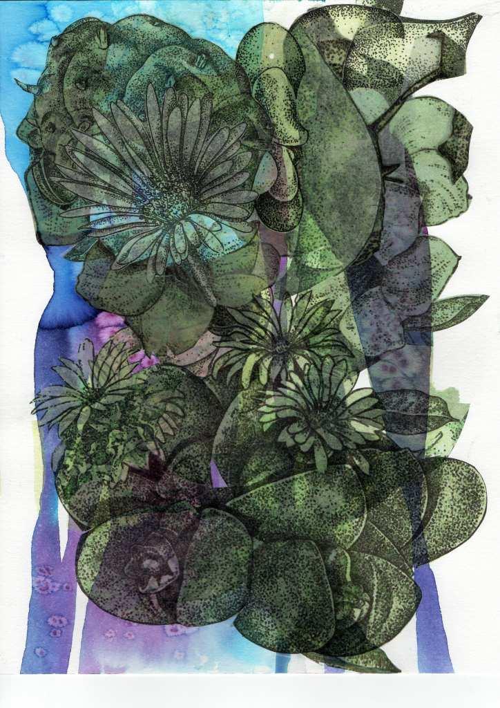 Von der Künstlerin Gudrun Brückel stammt das Werk
