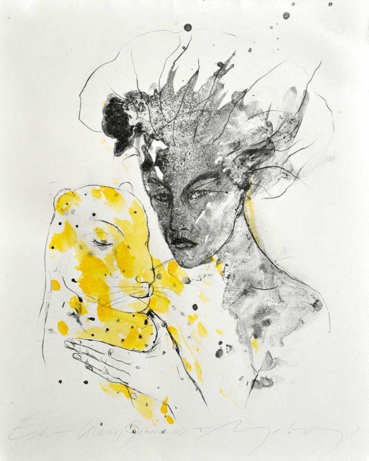 Algarfie der Künstlerin Angela Hampel